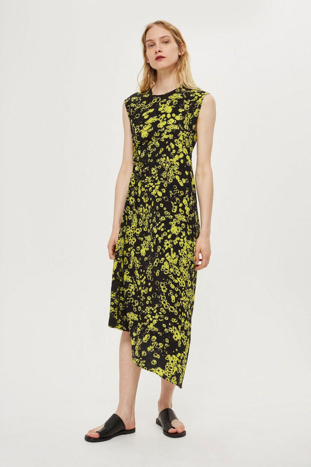 topshop-MULTI-Daisy-Print-Dress-By-Boutique